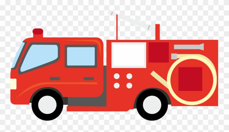 A Png Masa Flexible Figuras Protecci N Cartoon Fire Truck Png Clipart 647507 Pinclipart