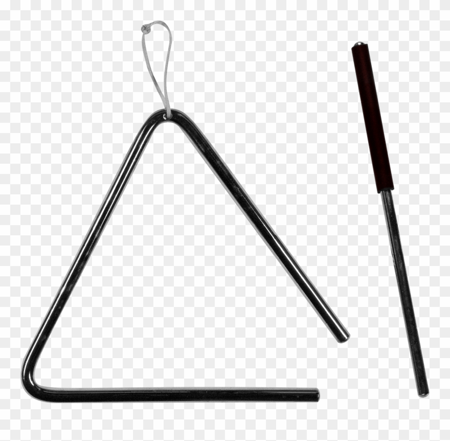 Triangle Clip Musical Instrument - Triangle Instrument No Background