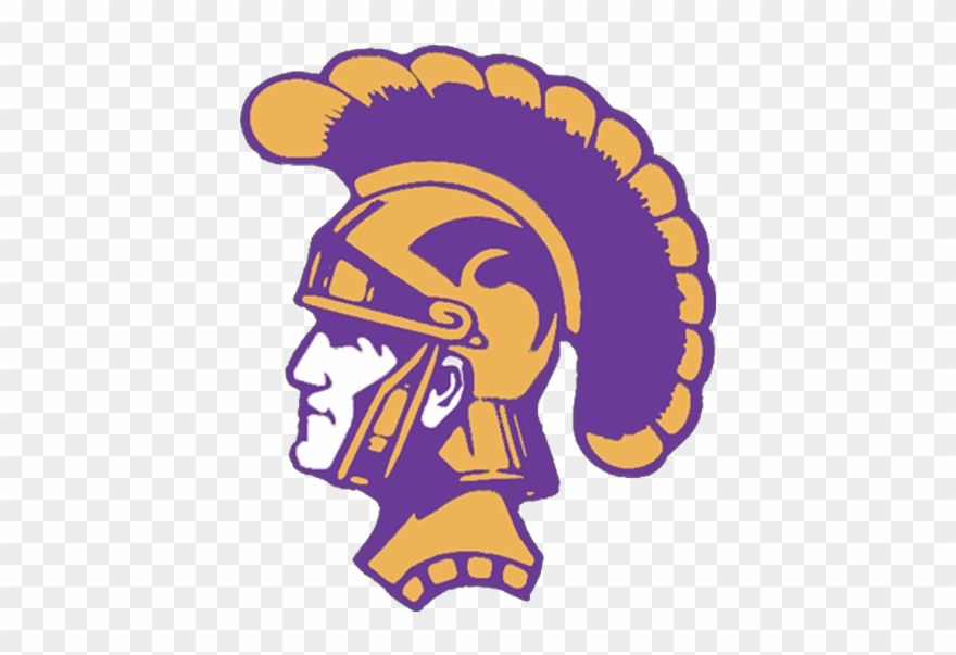 Spartan Clipart Trojan Head - Daphne High School Trojans - Png Download