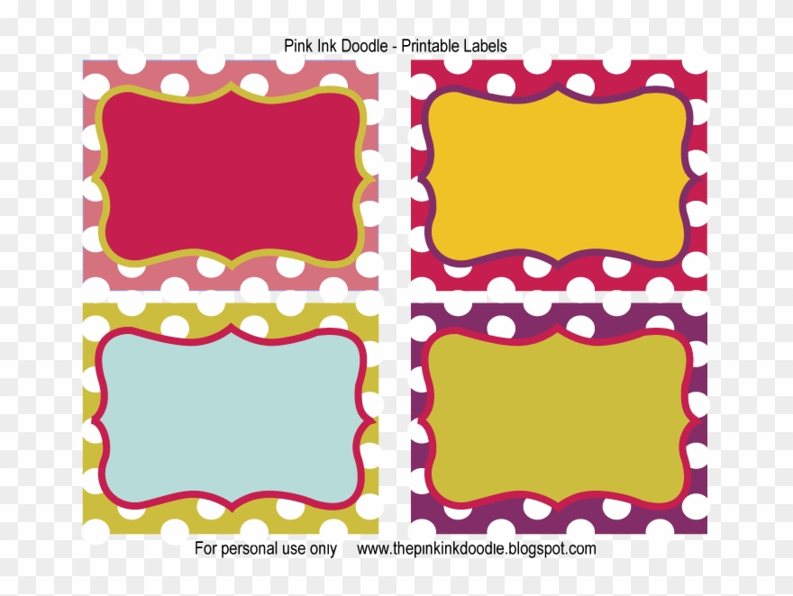 picture about Printable Candy Labels referred to as Totally free Printable Sweet Jar Label Templates 251404 - Absolutely free