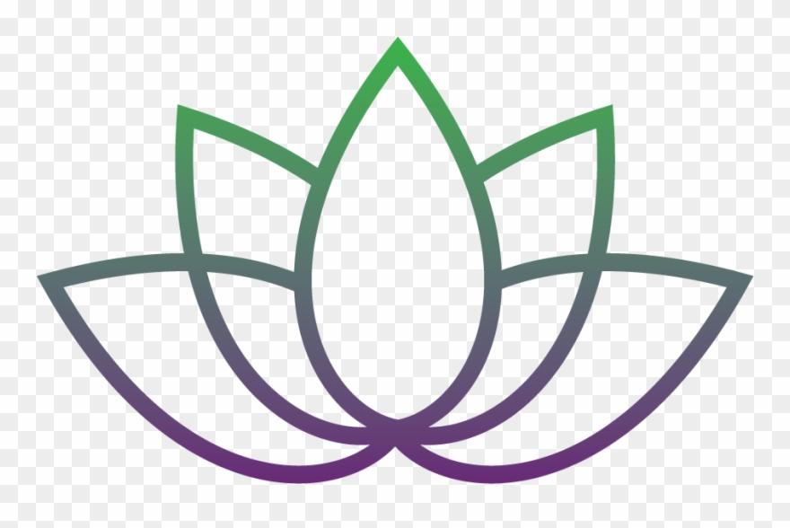 Aloha Healing Lotus Flower Logo Png Clipart 657476 Pinclipart