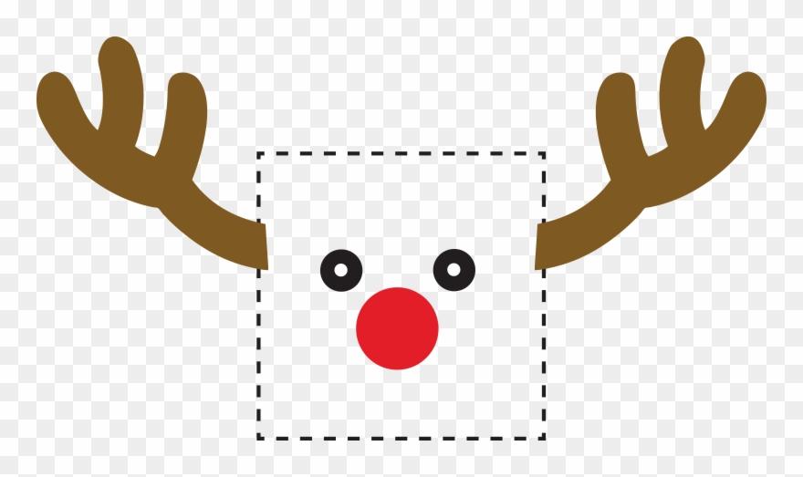 Rudolph Reindeer Light Switch Sticker - Light Switch Clipart   658651