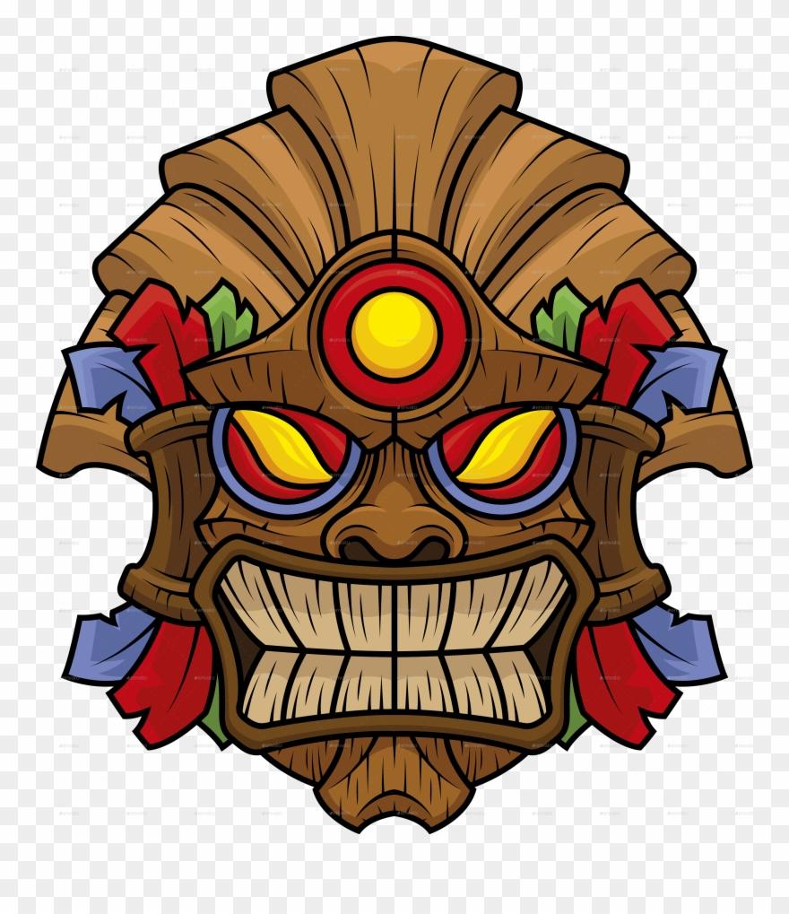 Tiki Mask Png