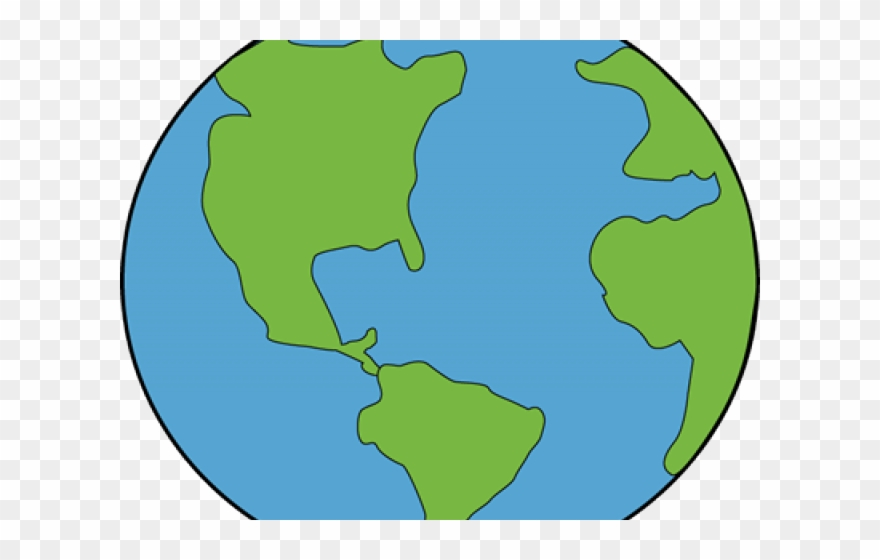 Cute Clipart Earth   Map   Png Download (#669566)   PinClipart