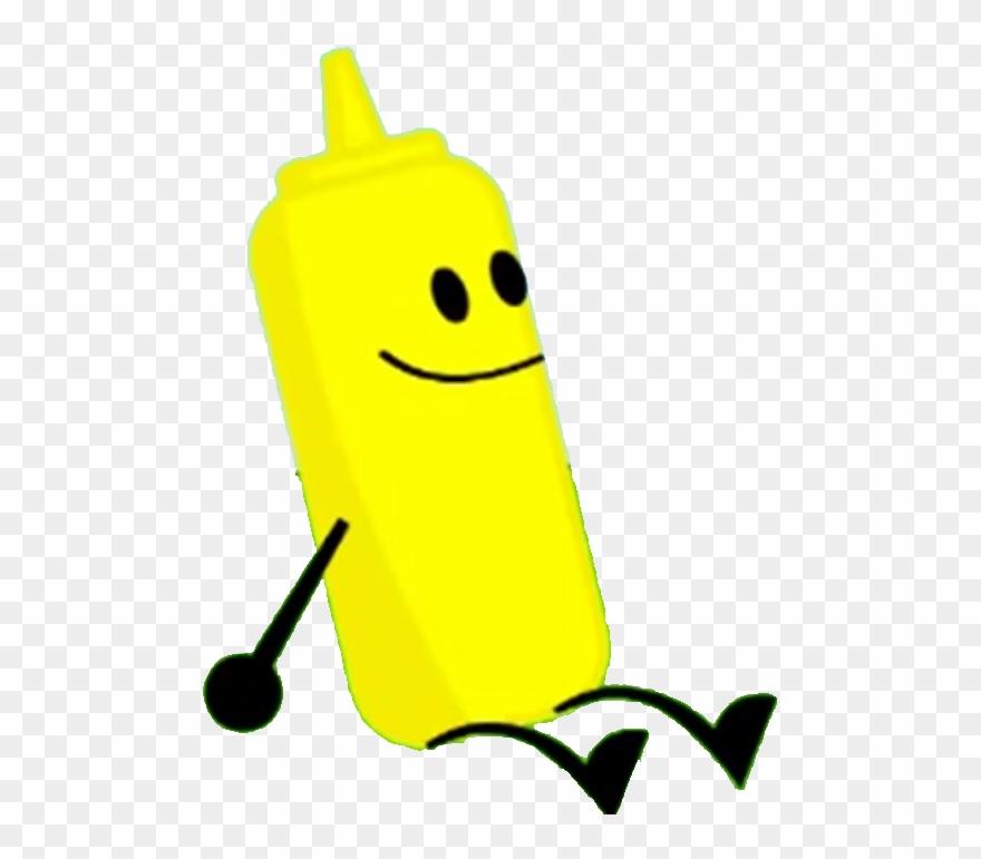 Image Character Mustrad Png Object Land Wiki - Bfdi Ketchup Clipart