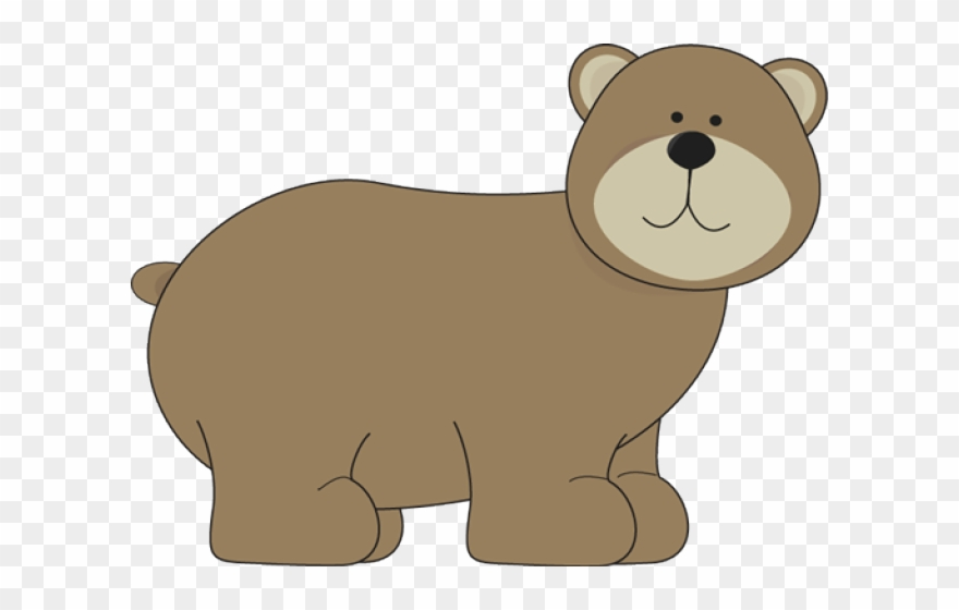 Bear woodland. Grizzly clipart png
