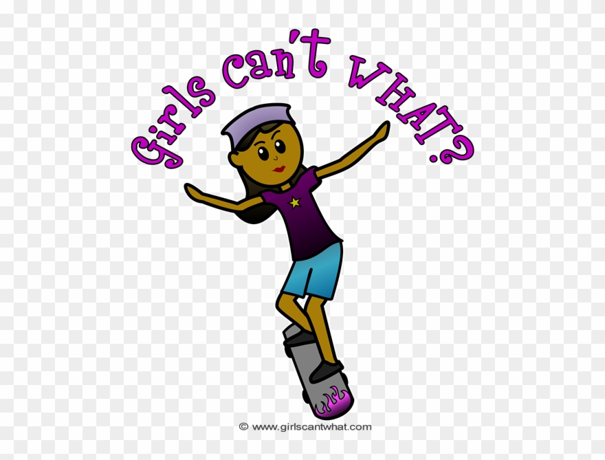 Skateboard Clipart Cant Happy Birthday Female Fireman Png