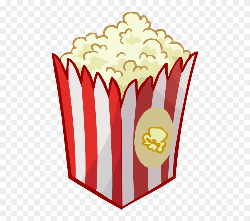 Popcorn Pop Corn Cinema Png Clipart 673503 Pinclipart