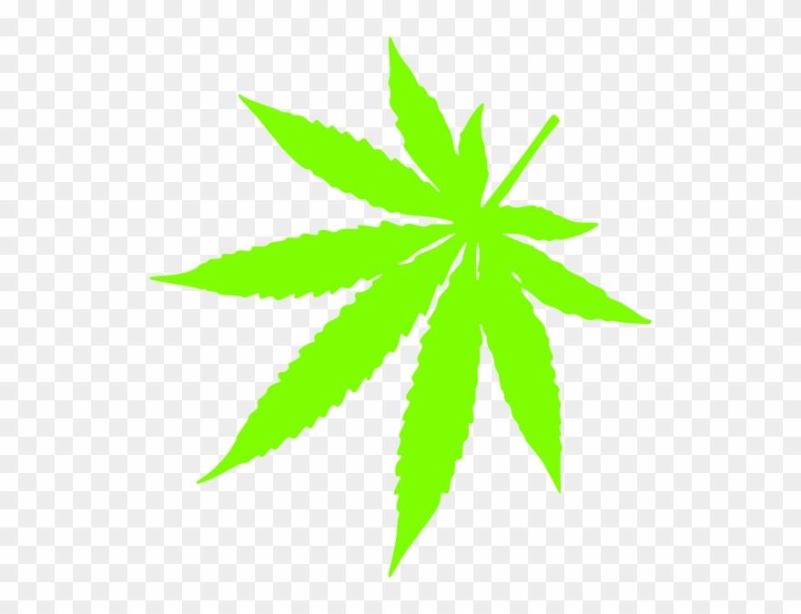 Weed Marijuana Leaf Clip Art N13