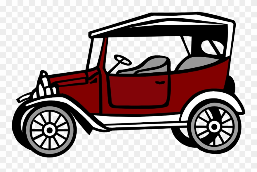 Transparent Old Car Vector Png Clipart 687901 Pinclipart