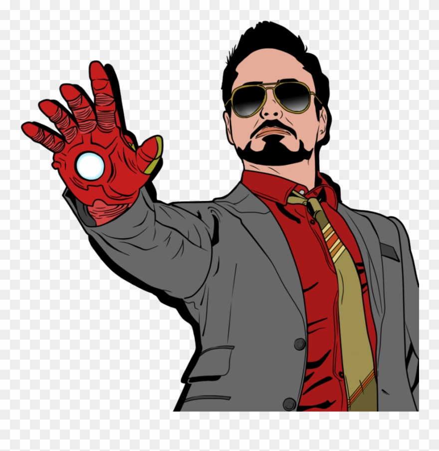 Tony Stark Robert Downey Jr By Xxnaooxbeaatzxx Clipartlook