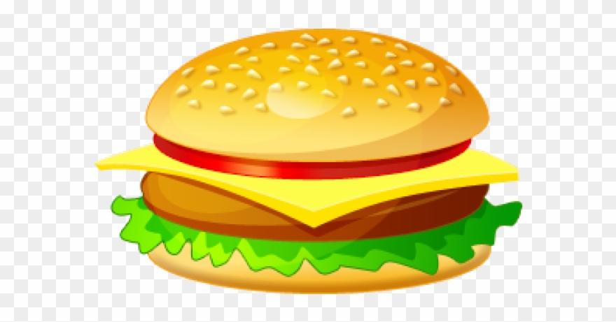 Healthy Food Clipart Burger - Burger Clip Art Png