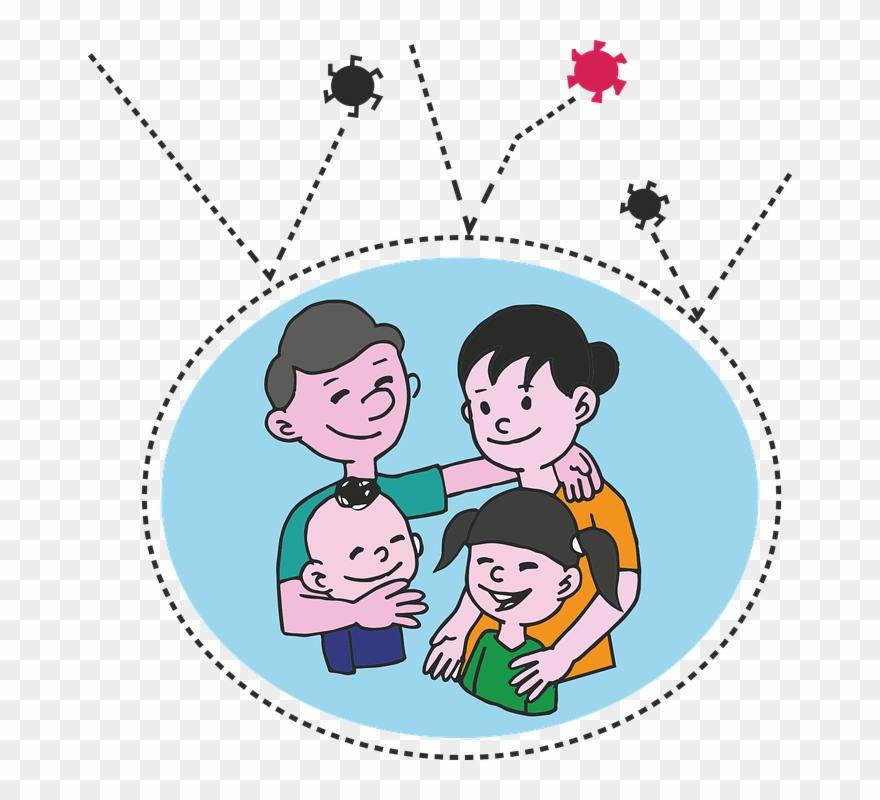 Download Clipart Black And White Pinterest Views Album Gambar Ayah Ibu Dan Anak Kartun Png Download 695204 Pinclipart