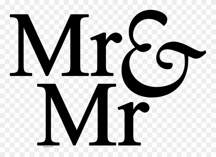 Mr Mr Mrs Clipart 697727 Pinclipart