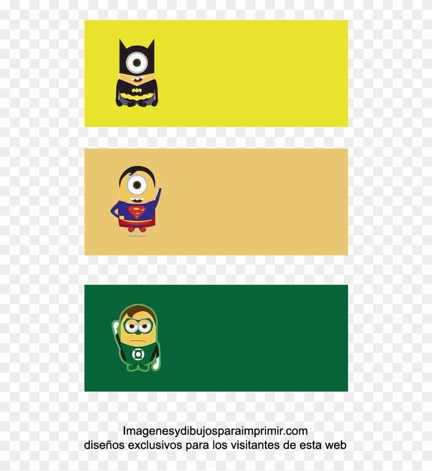 Etiquetas De Minions Superheroes Para Imprimir Classroom
