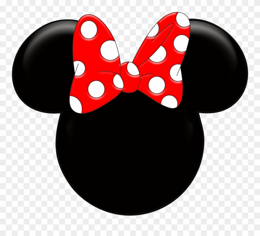 Minnie mouse silhouette. Ears clipart kid stylotutuboutique