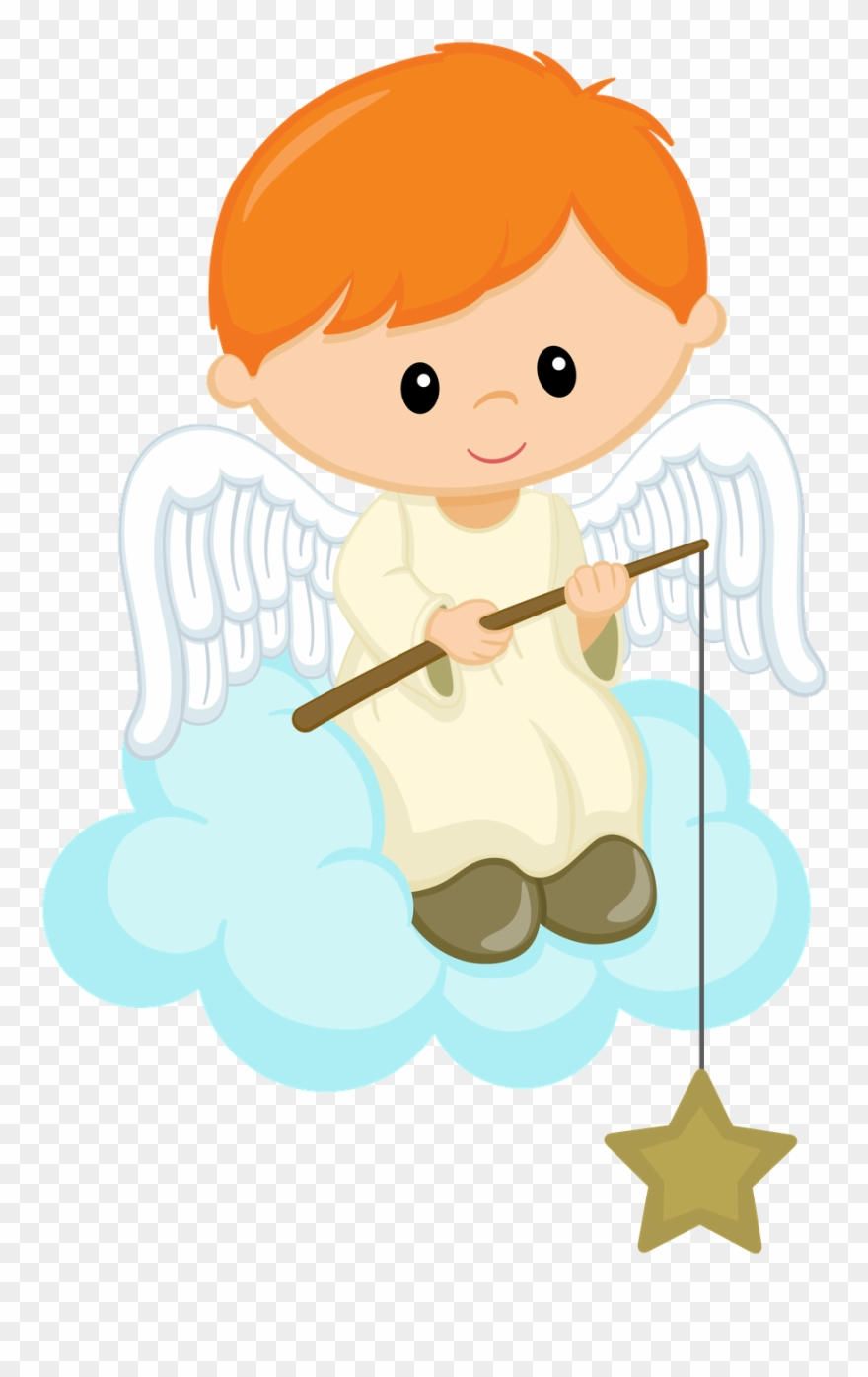 Angel baby. Picture stock clipart png