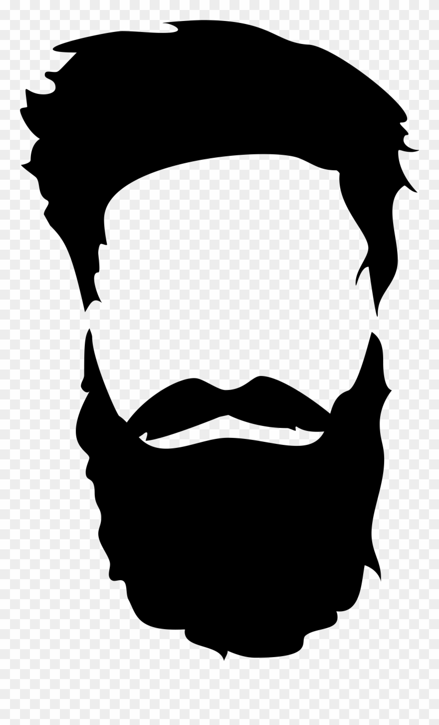 Beard real. Hair png clip art