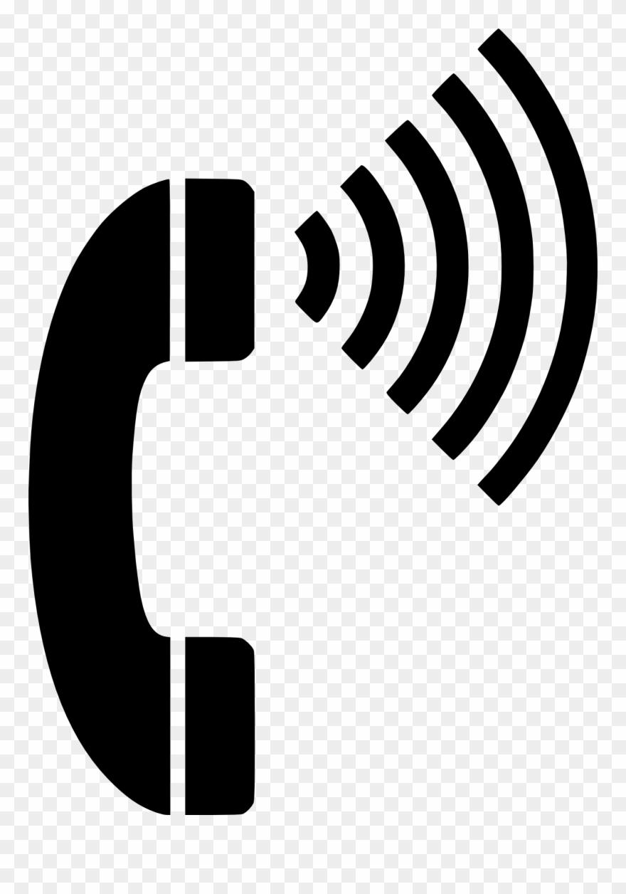 Phone calling. Call ringing clip art