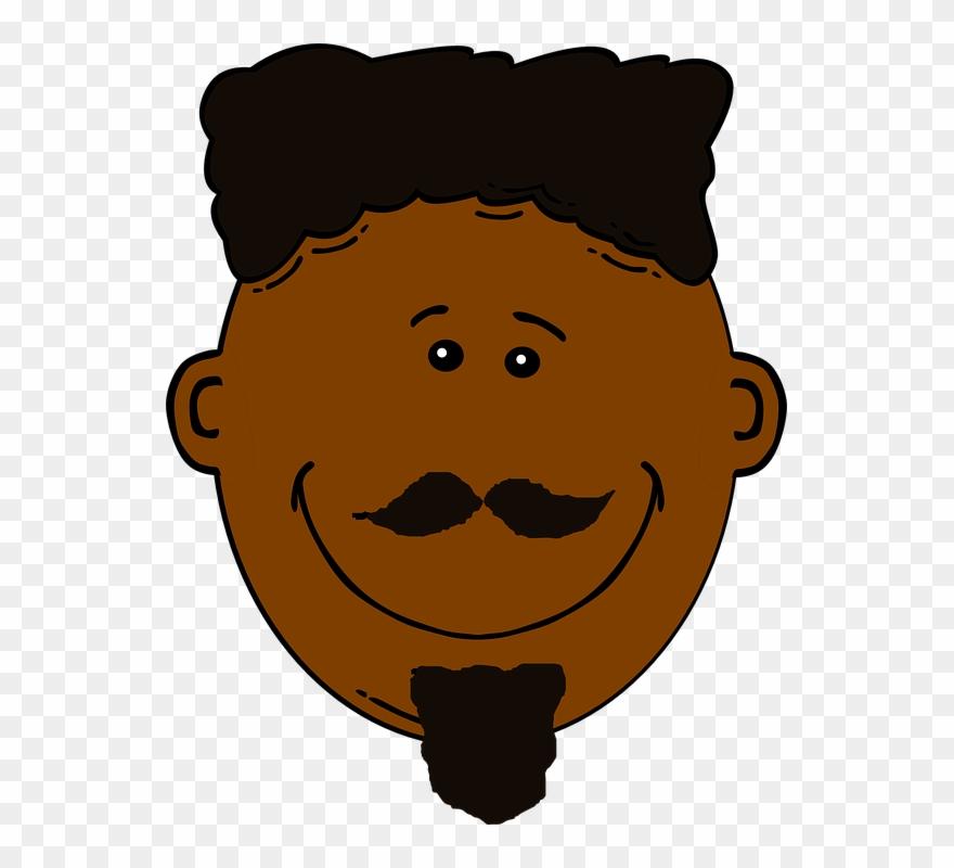 Dark Hair Clipart Dark Person Black Skin People Cartoon Png Download 73857 Pinclipart