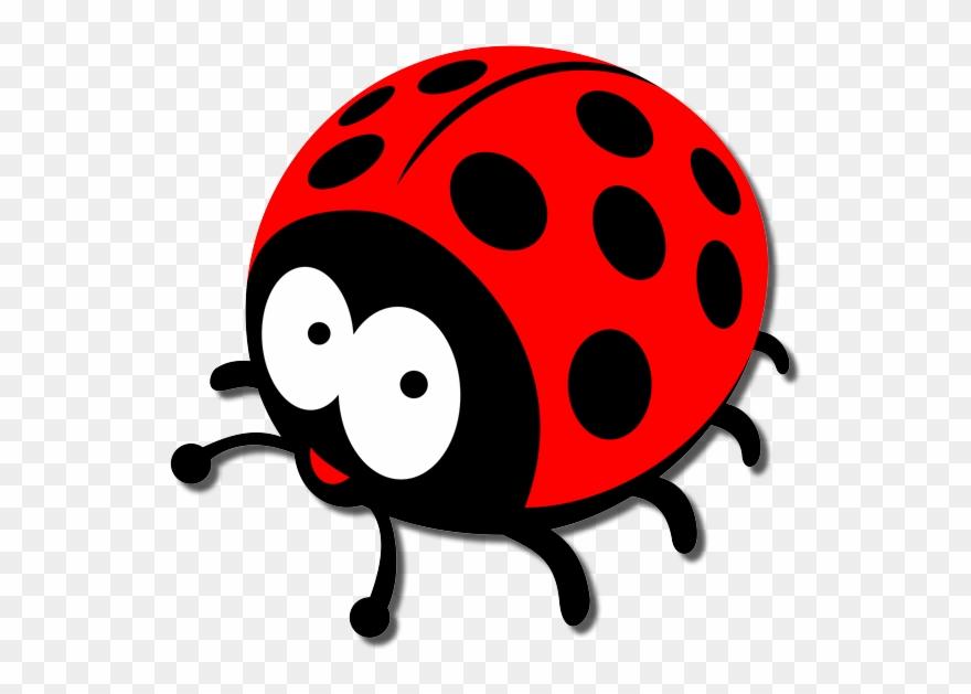 Transparent Ladybug Garden Clipart Image Royalty Free - Ladybug Cartoon Png  (#73863) - PinClipart