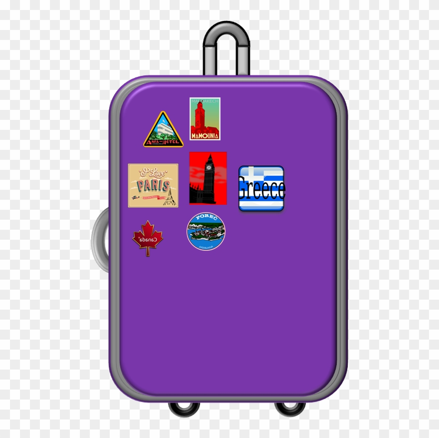 576f6bf44 Luggage Clipart Free - Cafepress World Traveler King Duvet Cover - Png  Download