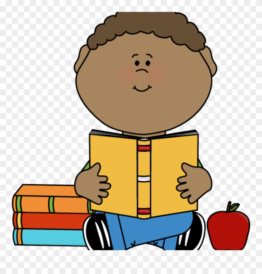 Boy Reading Clipart Boy Reading Clip Art Little Boy - Student Reading Clipart Png Transparent Png