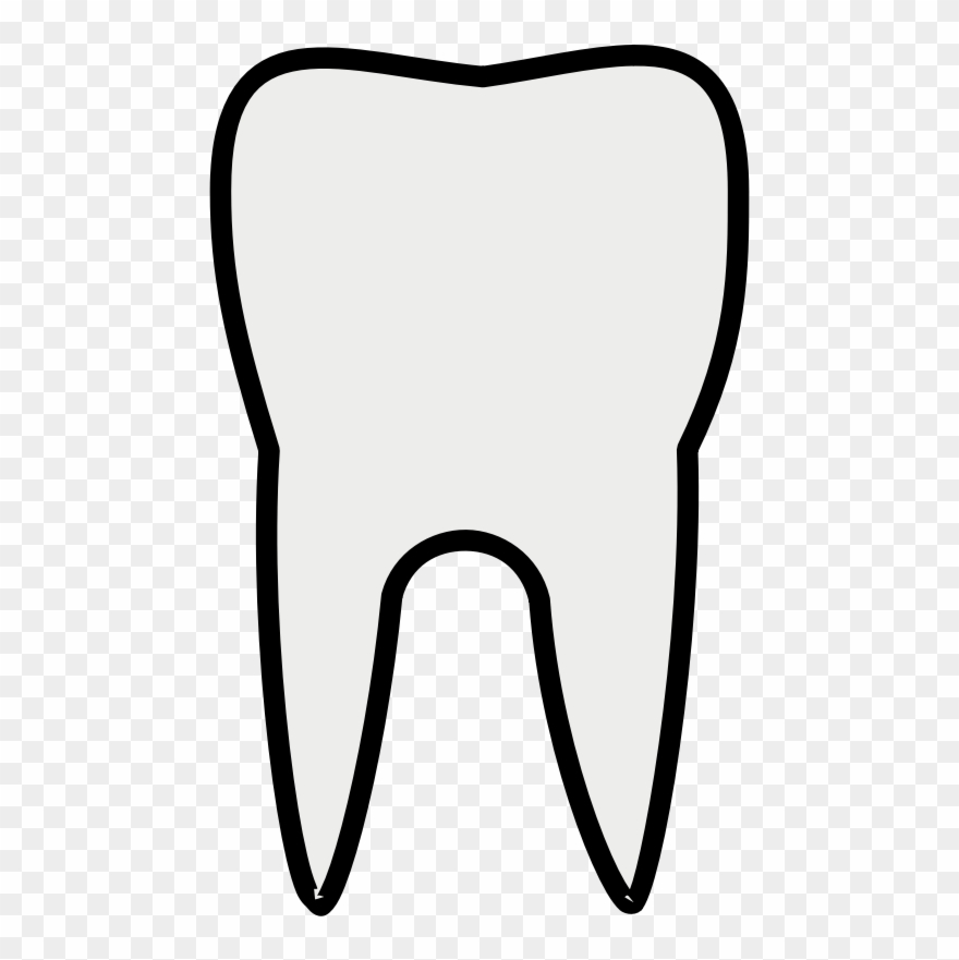 Tooth Clip Art Transparent Cartoon Tooth Png Download 75566 Pinclipart