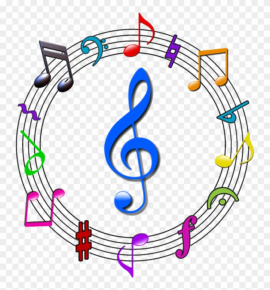 Music Symbol Png Images Pictures - Musical Symbols Png Clipart