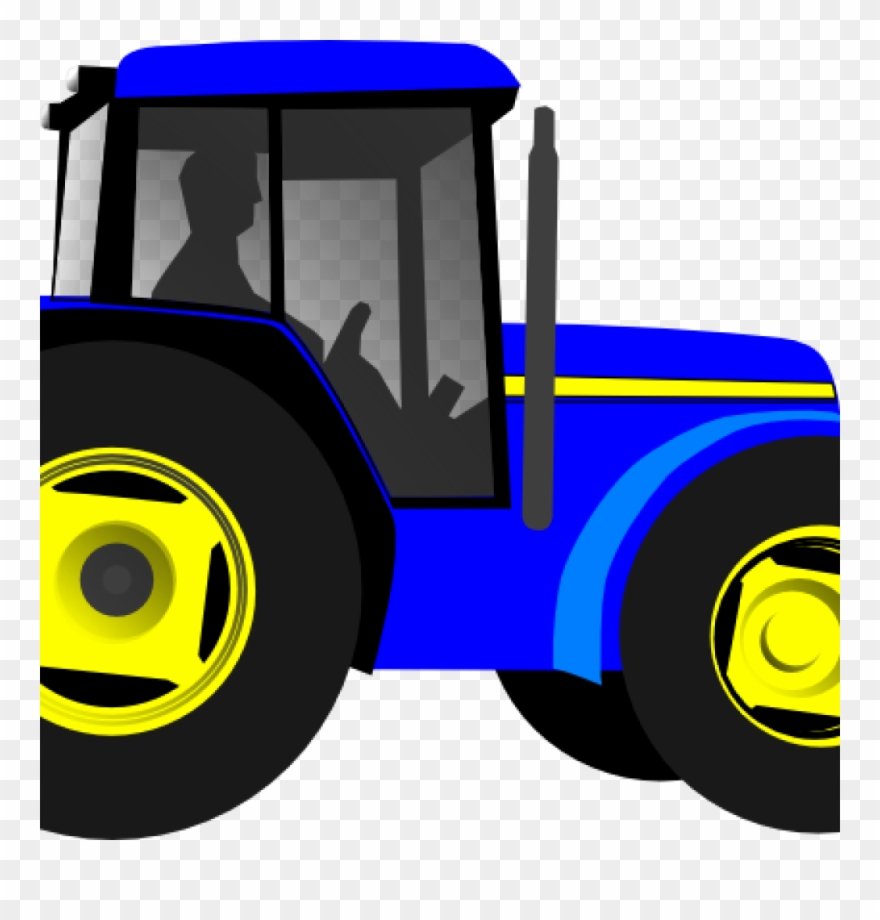 Tractor Blue Clip Art at Clker.com - vector clip art online, royalty free &  public domain