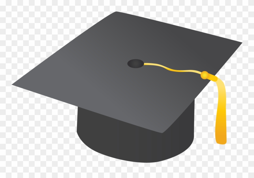 Graduation transparent background. Cap clipart no pancake
