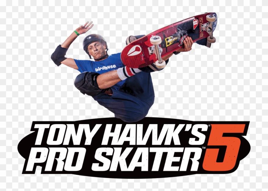 Tony Hawk Png Activision Tony Hawk S Pro Skater 5 Ps4 Clipart Full Size Clipart 701185 Pinclipart