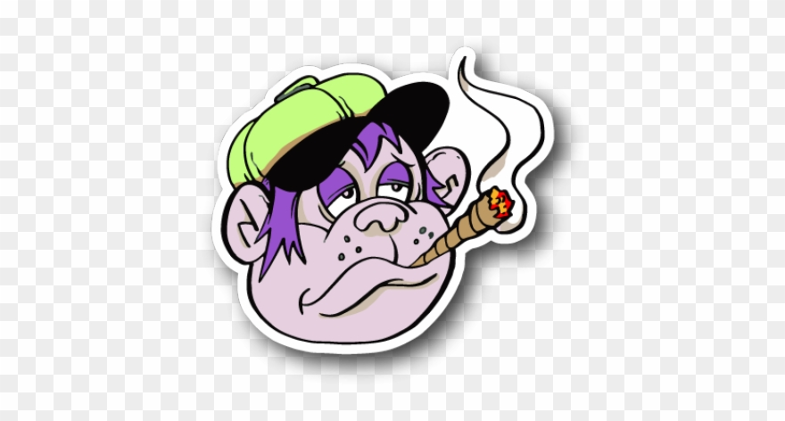 Weed Clipart Joint Smoke Cartoon A Blunt Smoke Png Download 703759 Pinclipart