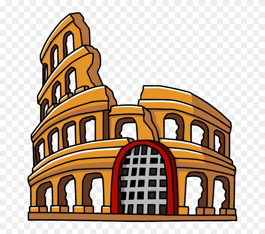 Colosseum Coliseo Romano Animado Clipart 712199 Pinclipart