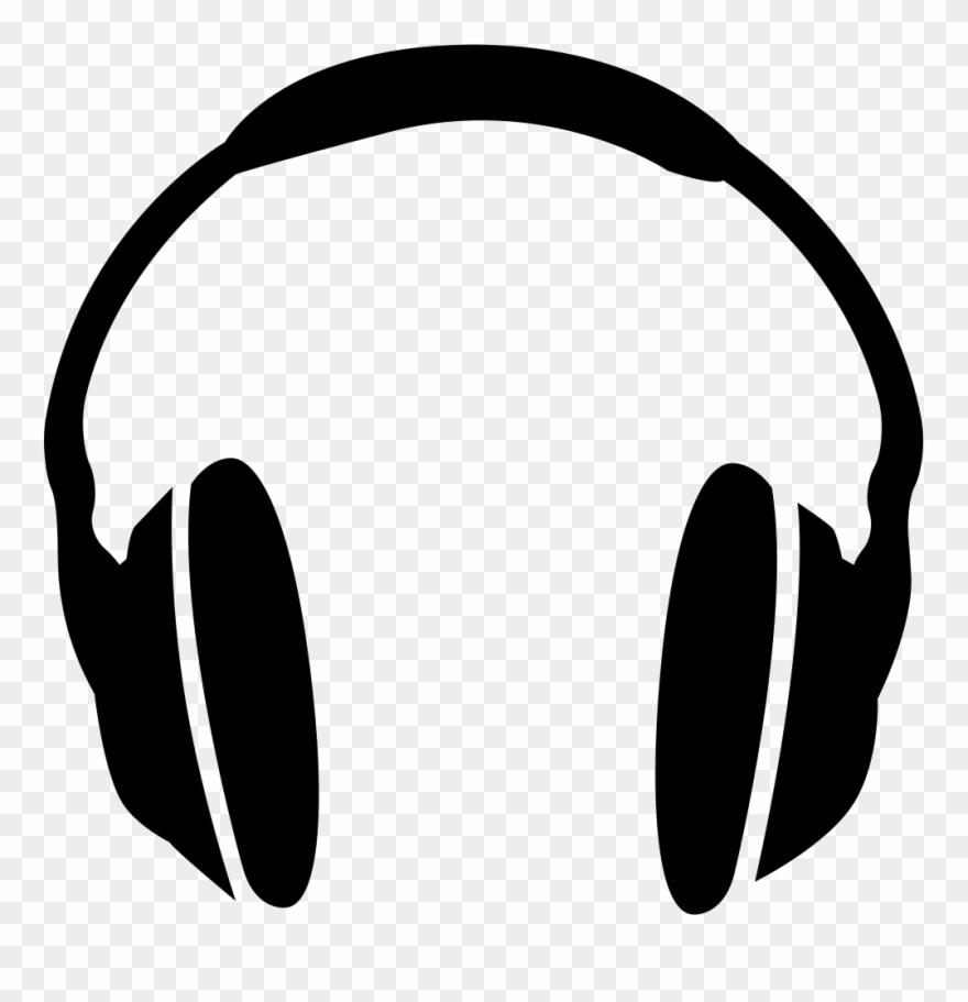 Headphones Clipart Svg Cartoon Headphones Png Transparent Png 713909 Pinclipart