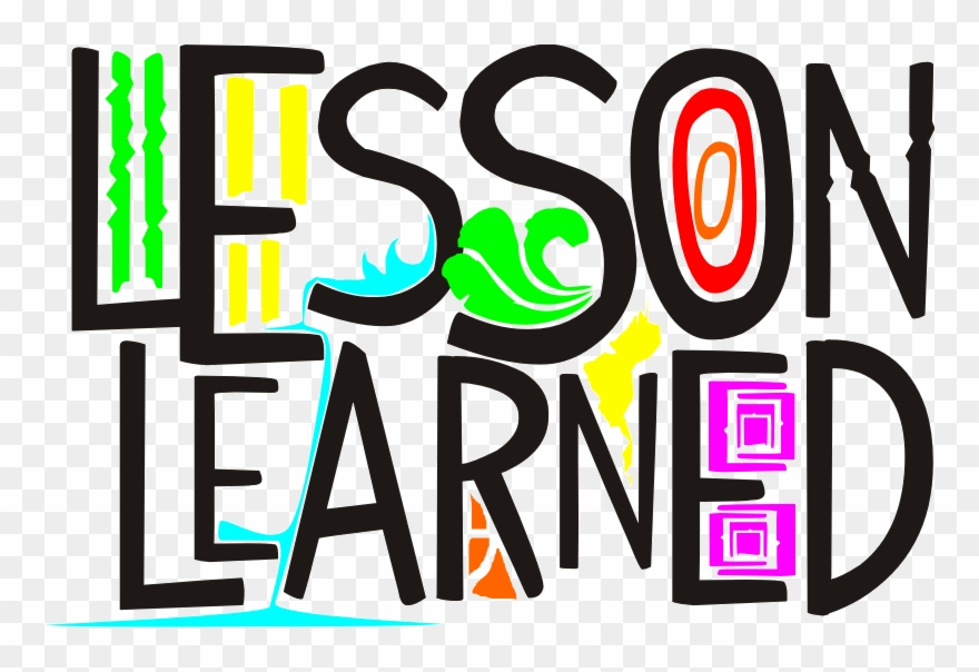 Collection Of Life Lessons High Quality - Lesson Learned