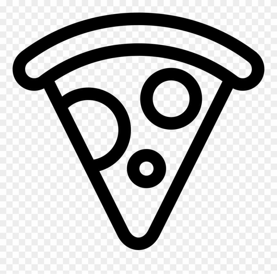 Pizza icon. Comments png free clipart