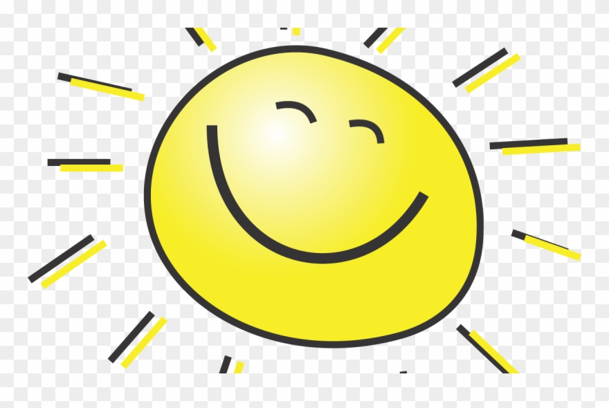 Happy Smiling Sun - Sunny Face Clipart (#717561) - PinClipart