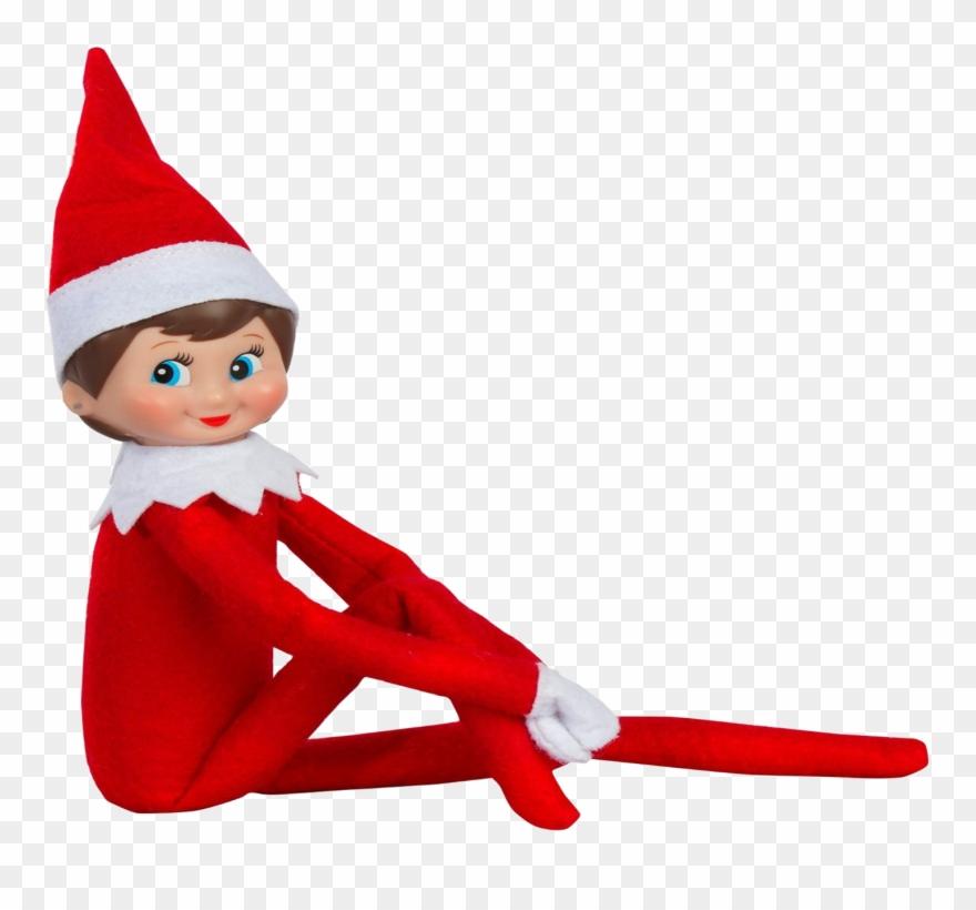 Christmas Elf On The Shelf Clipart.Elf On A Shelf Png Clip Freeuse Girl Elf On The Shelf