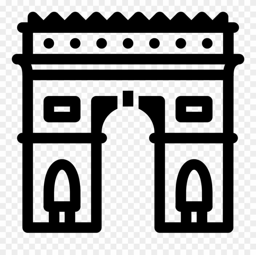 Arc De Triomphe Clip Art
