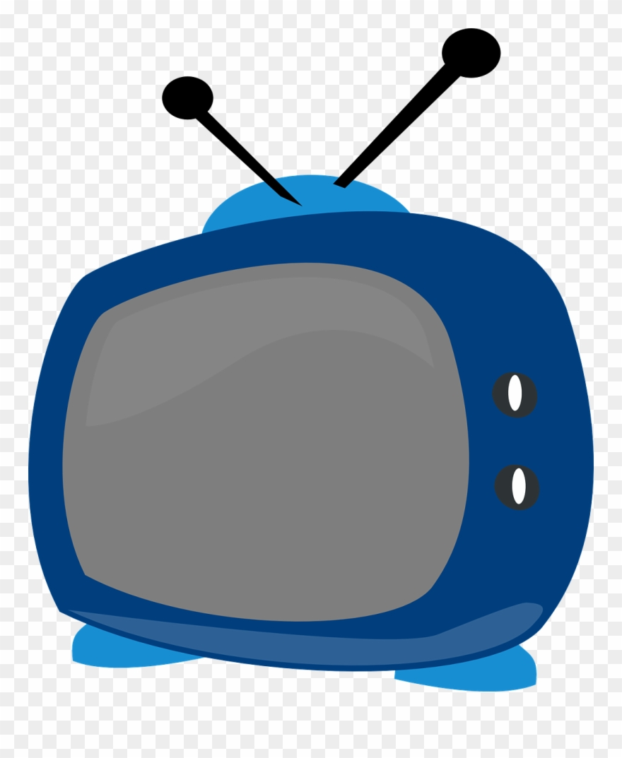 Tv transparent background. Antenna clipart with