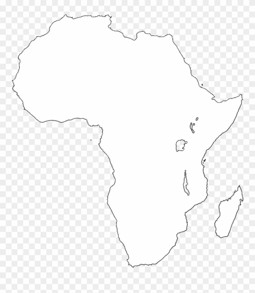 Africa Map Transparent Background Clipart 725832 Pinclipart