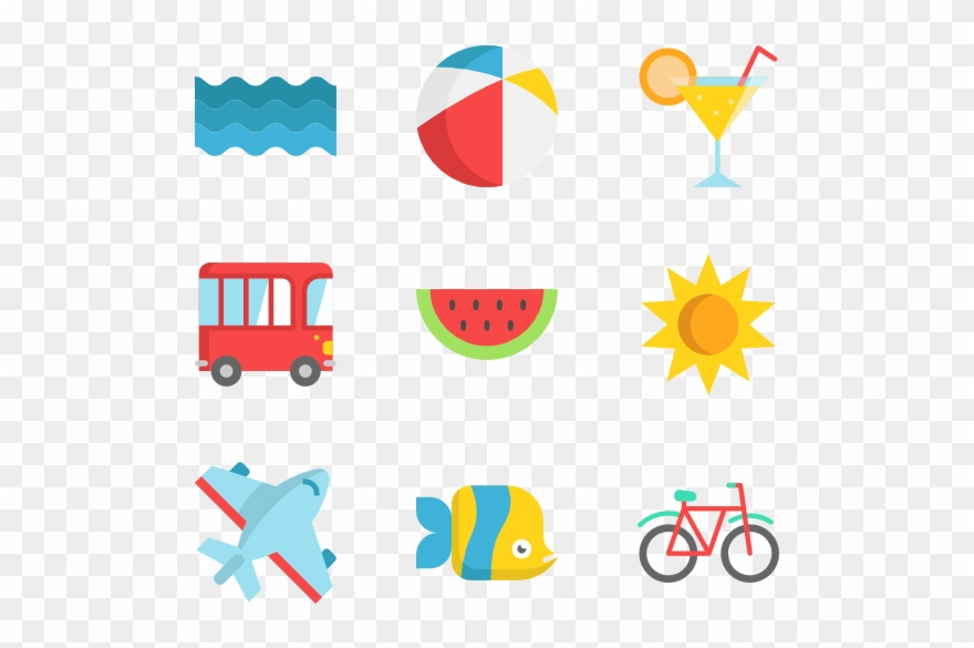 summer holidays summer icon vector png clipart 734022 pinclipart summer icon vector png clipart