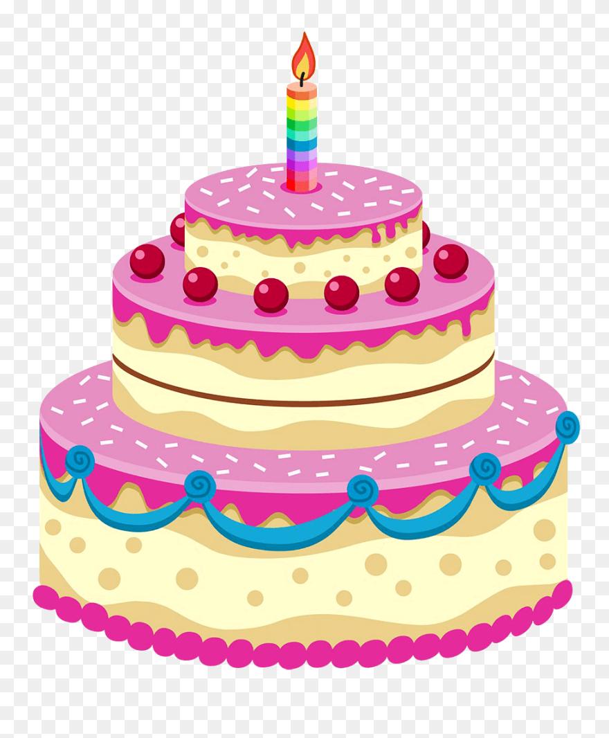 Dessert Clipart Transparent Background - Birthday Cake