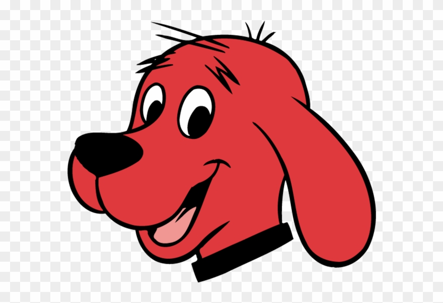 It's just a photo of Transformative Clifford the Big Red Dog Clipart