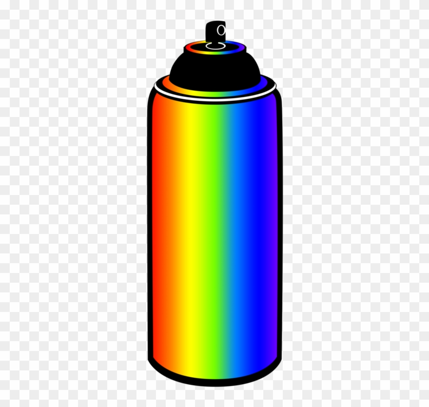 Spray Can Icon Clipart Isolated On Stock Vector (Royalty Free) 1076073686
