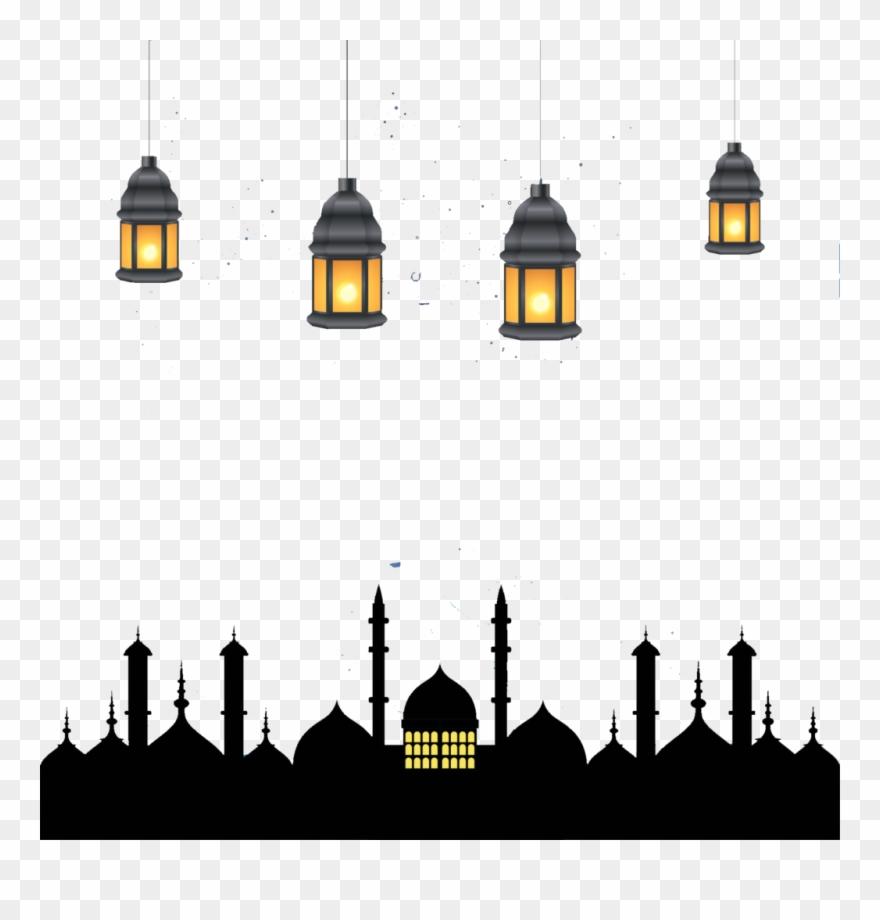 Ramadan Kareem Greeting Card. Islamic Crescent Moon And Lantern.. Royalty  Free Cliparts, Vectors, And Stock Illustration. Image 80042822.