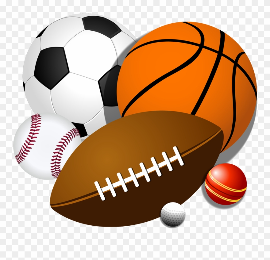 Sports equipment. Pe clipart sport balls