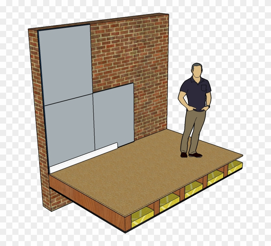 Soundboard Wall Soundproofing Mm Clip Art Freeuse