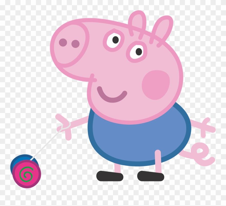 George Pig Pepa Pinterest Peppa Pig Characters Png Clipart